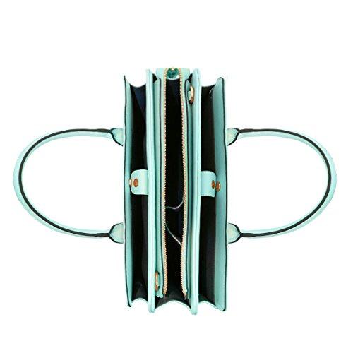 LYDC - Bolso de hombro Mujer mujer Niñas Hombre verde menta