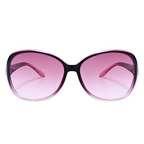 Mujer de para Sol Conducción Resina Nikgic UV Gafas Gafas Sol Polarizado Light la Deportiva Portección Moda de Purple de IXnIZdx