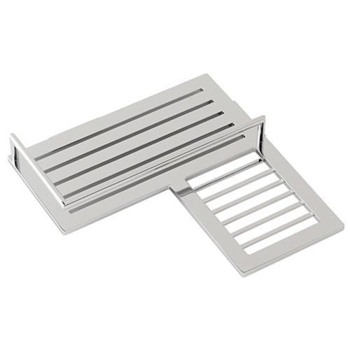 Ginger 28504R/SN Surface Combo Corner Shower Shelf-Right 28504R, Satin Nickel - Brasstech Shelf