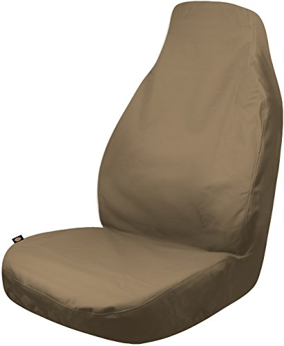 Dickies 3001683 Heavy Duty Waterproof Bucket Seat Cover, Tan