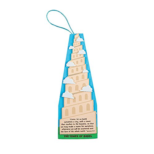 Tower of Babel Sign Craft Kit (Tower Of Babel Craft)