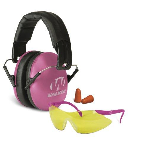 Walker's Women Combo Kit-27dB NRR-Pink