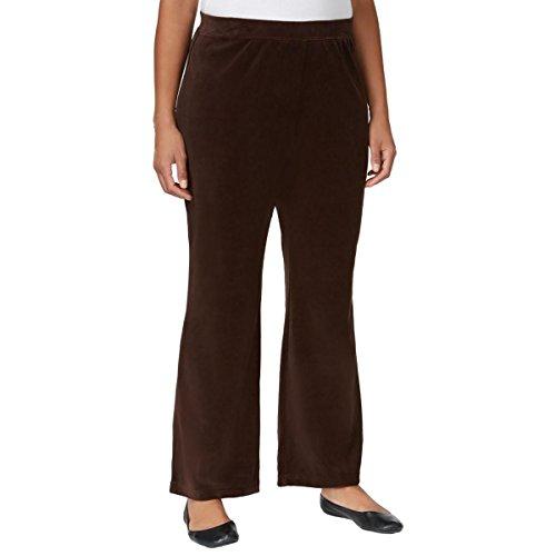 Stretch Velour Pants - 4