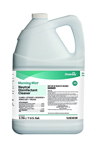 Morning Mist (Diversey Morning Mist Fast Neutral Disinfectant Cleaner - Value Pack, 1 gallon, 4 Pack (Fresh Scent))