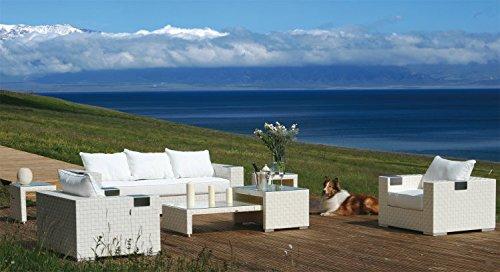 Konway & Nösinger Rattan Sitzgruppe Mersiha Garten Lounge Sofa + ...