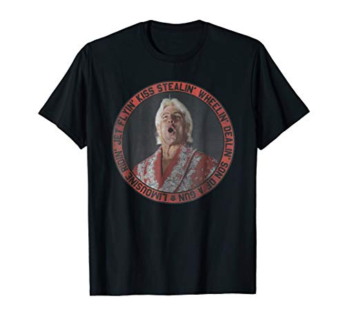 WWE Ric Flair Promo Stylin' & Profilin' T- Shirts