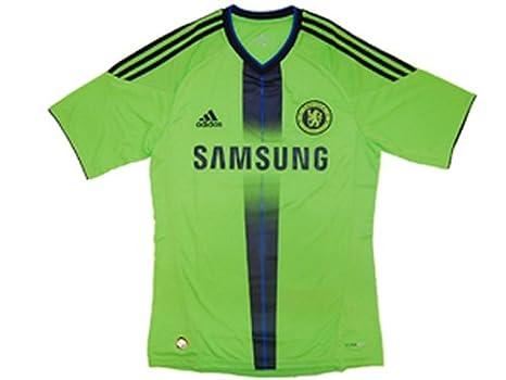 Adidas CFC 3 JSY Chelsea FC - Camiseta Third fútbol hombre verde, fútbol, Hombre, color verde, tamaño XXL: Amazon.es: Deportes y aire libre