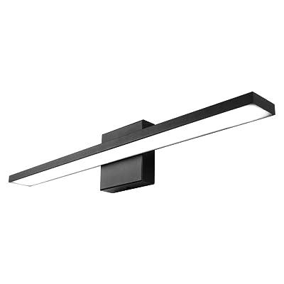 Buy Ralbay 24 Inch Dimmable Black Led Modern Vanity Light 24w Frosted Aluminum For Bathroom Vanity Lighting Fixtures Cool White 6000k Online In Turkey B08dfmbkc4