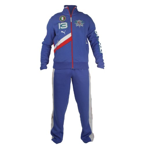 Puma Heritage Yachting Italy Track Suit (Mens) - Team Power Blue-Italy