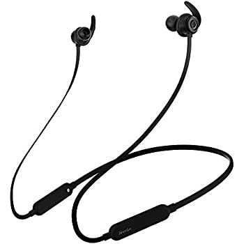 Bluetooth Headphones,AlierGo SoundOn Neckband Wireless Headphones, Wireless Light weight Headset, IPX5 Water Resistant Sport Earbuds Earphones with CVC6.0 Noise Cancelling aptX Stereo and Built-in Mic