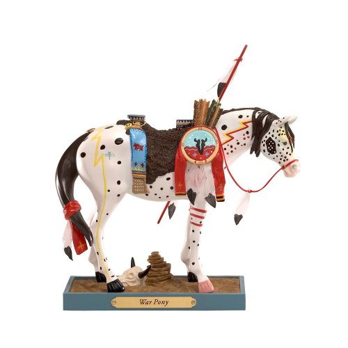Enesco Trail of Painted Ponies War Pony Figurine 7-1 2-Inch