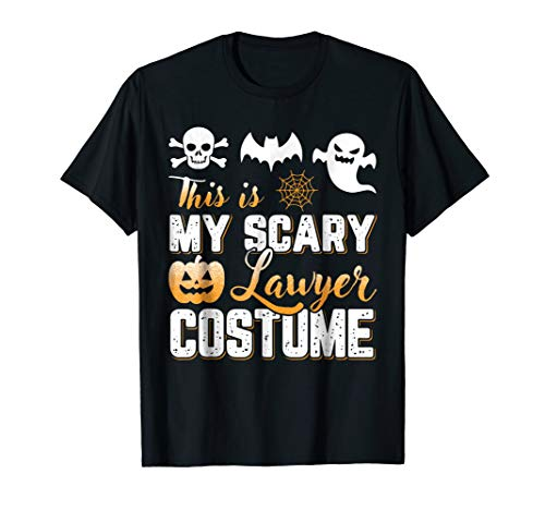 This Is My Scary Lawyer Costume Halloween T-Shirt ()
