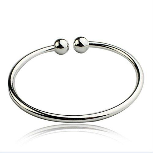 Stunning Beautiful 925 Silver Classic Simple Design Bracelet - Men 925 Silver Bracelet