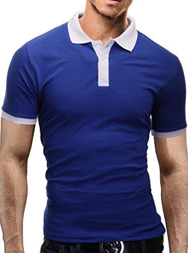 Vari Merish Polo Slim Colori Fit Camicia bianco Blu 1025 Modell Uomo rxXTqdBwr