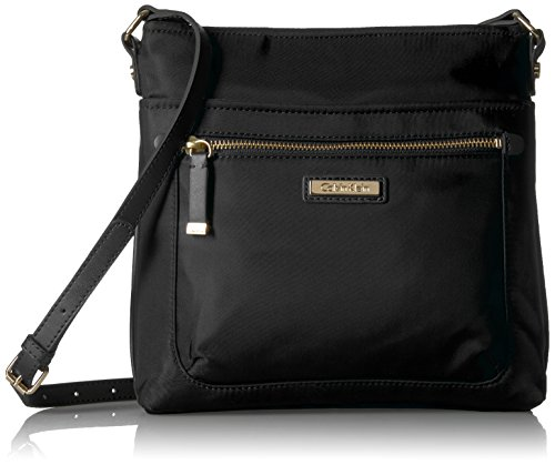 Calvin Klein Nylon Top Zip N/s Crossbody by Calvin Klein