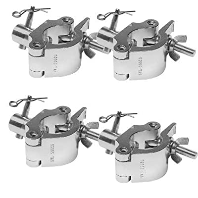 "Global Truss Coupler Clamp 2"" Wrap Around w/Half Coupler combo-4 PACK from Global Truss"
