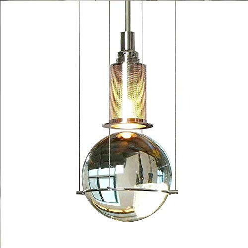 - Qyyru Creative personality Pendant light Water drop adjustable chandelier 1-Light Suspension LighTransparent Glass Lamp Shade Brushed Kitchen Lighting Fixture for Island Loft Counter Dining Room Bar R