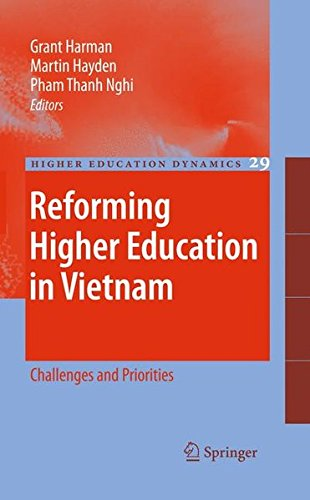 Reforming Higher Education in Vietnam: Challenges and Priorities (Higher Education Dynamics) by Springer