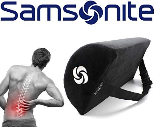 Amazon.com: Samsonite SA6018 - Cojín lumbar para media luna ...