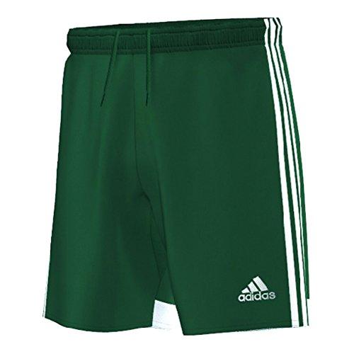 adidas Men's Regista 14 Shorts - Collegiate Green, Forest Green/White, Small