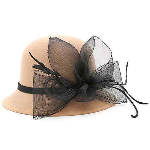 ChenXi Store Women's Kentucky Derby Racing Horse Organza Hat Church Wedding Dress Party Occasion Cap