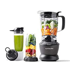 Got kitchen ambitions? The NutriBullet combo blender is our One-For-All option: A super-capable, super-flexible blender that makes everything from simple smoothies to savory soups and beyond. Its high-capacity 64-Oz. Pitcher is the ultimate c...