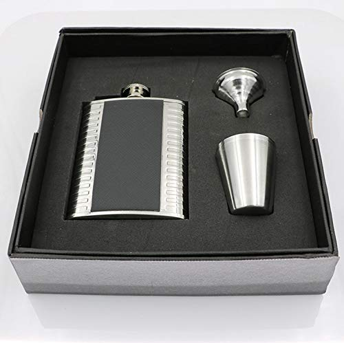 - I FOR Set Soho Flask Funnel Cup in Stainless Steel in Box