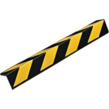 "Rubber Corner Guard 30"" for Parking Columns and Garage Walls L-Shaped"