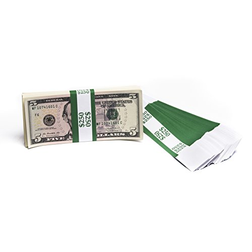 Barred ABA $250 Currency Band Bundles (500 Bands)