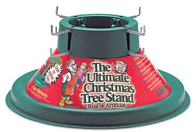 H M S MFG 103-12 X-mas Tree Stand, 19-Inch (Best Live Christmas Tree Stand)