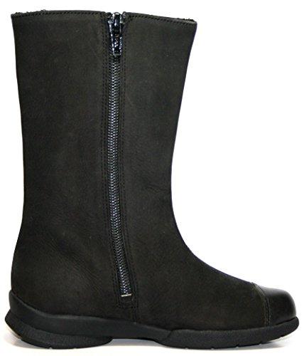 Jela 7596 chaussures bottes d'hiver pour enfant-noir/blanc-taille 28
