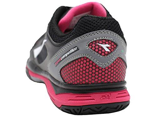 schwarz Diadora Tennisschuhe pink Mehrfarbig Damen qt0rt
