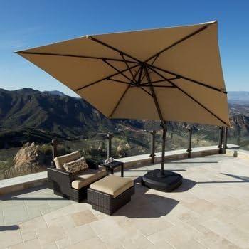 Amazon Com Portofino Signature Resort Umbrella 10 X 10