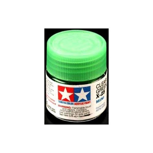 Tamiya Acrylic X25 Gloss,Clear Green