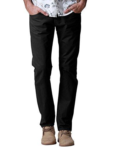 Match Men's Regular Fit Straight Leg Jean #8048(38,Black)