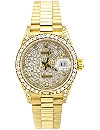 Day-Date automatic-self-wind womens Watch 69158 (Certified Pre-owned)