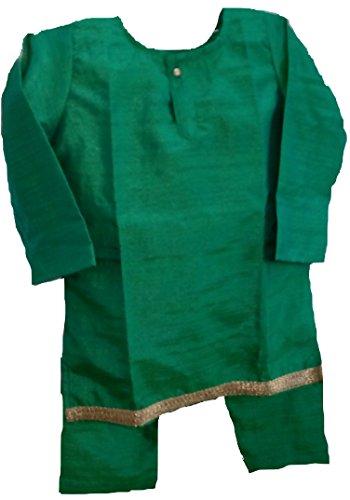 - 1 YR Baby BOY Pure Silk Rare Design Indian Ethnic Dress