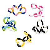 3 Pack Tangle Relax Therapy Stress Reliever Fidget Twist Tangle Toy Tangle Relax Fidget Toy