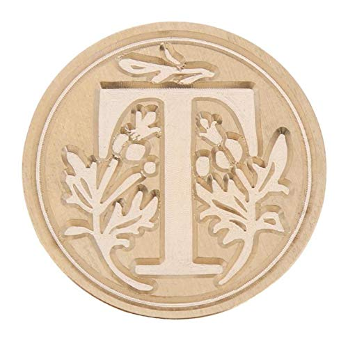 - Wax Seal Stamp Retro Flower Letter Envelope Sealing Wax Copper Seal Stamp Art Decorative Sealing Wax Seal Stamp Wood Handle Wedding Post Gifts Style 3