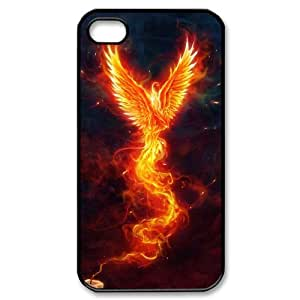FLYBAI Monster Demon Phoenix Phone Case For Iphone 4/4s [Pattern-1]