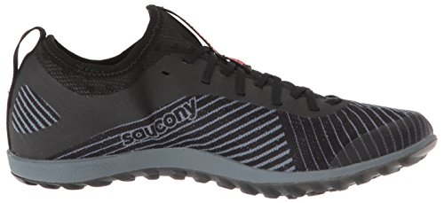 Saucony Women's Havok XC2 Flat Track Shoe Black/Grey/Vizi-red 5.5 M US by Saucony (Image #6)