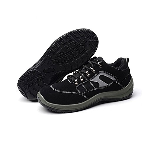De Chnhira A Securité Femmes Securite Acier Noir Protection Confortable Travail Homme Chaussure 13JcTlKF