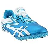 ASICS Women's Hyper-RocketGirl Sp 5 Track Shoe,Turquoise/White,11 M US
