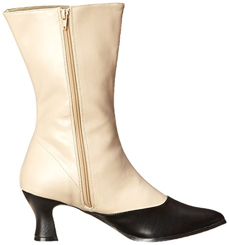 Boot Polyurethane Funtasma Victorian Women's 123 Black Cream PrwzqYwt4