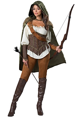 Enchanted Forest Huntress Adult Costume -