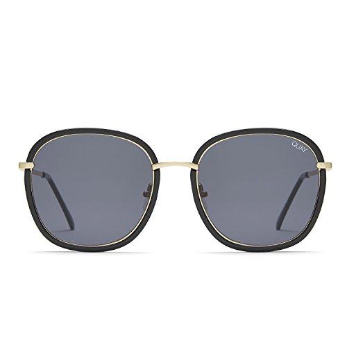 Quay Australia DREAMY WAYS Women's Sunglasses Metal Accent Sunnies - - Sunglasses Australian Brand