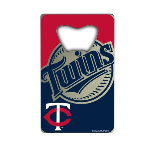 (MLB Minnesota Twins Credit Card Style Bottle Opener )