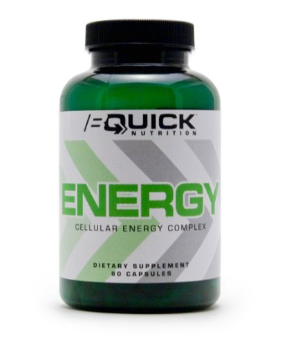 BQuick ENERGY, 80ct Capsules