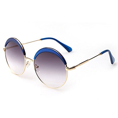 ZHOUKE Fashion Retro Round Sunglasses with Polarized Lenses For man and women - Makes Kirkland Sunglasses Who
