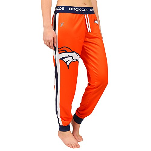 NFL Denver Broncos Women's Jogger Pants, X-Large, Orange by Forever Collectibles